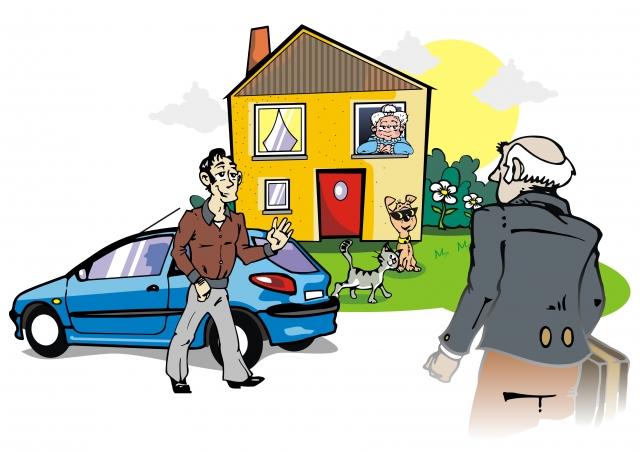 Tier Infos & Tier News @ Tier-News-247.de | Die Abreise steht bevor, der Haushüter kommt. Eine entspannte Situation.