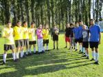 Tickets / Konzertkarten / Eintrittskarten | Tickets Konzertkarten Eintrittskarten - Foto: oto (DSM Antwerpen): Fußballmannschaften mit Seeleuten aus Montenegro (in blau) und Iran (in gelb) beim Eröffnungsspiele der Sportwoche.