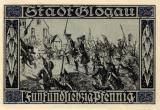 Ost Nachrichten & Osten News | Foto: Darstellung friderizianischen Zeit - Notgeld der Stadt Glogau -1923.