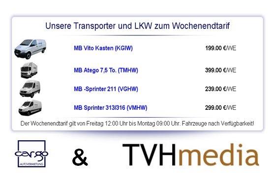 Tickets / Konzertkarten / Eintrittskarten | TVHmedia