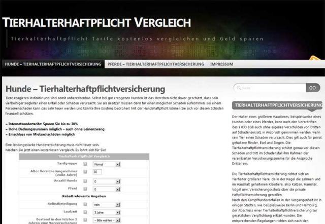 kostenlos-247.de - Infos & Tipps rund um Kostenloses | Tierhalterhaftpflicht-Versicherungen.de