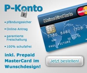 Kreditkarten-247.de - Infos & Tipps rund um Kreditkarten | Pfändungsschutz ab 1. Januar 2012 nur noch mit einem P-Konto