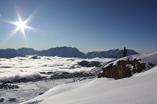 Europa-247.de - Europa Infos & Europa Tipps | Aussicht über das Skigebiet von Alpe d`Huez