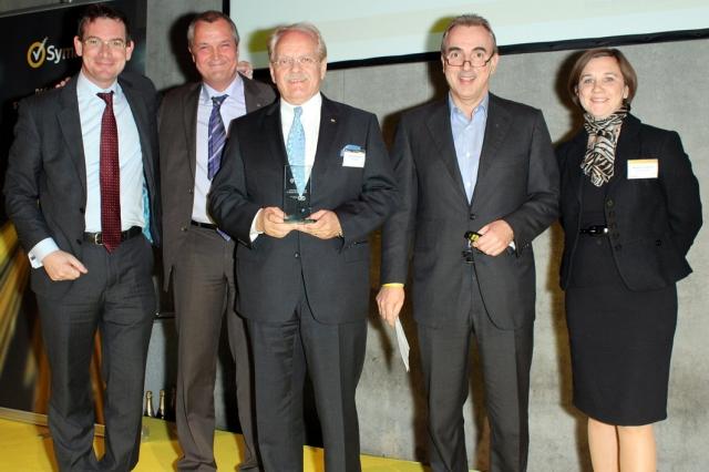 GID bei der Preisverleihung auf dem Channel Day von Symantec