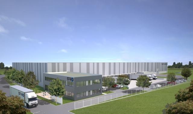 Niedersachsen-Infos.de - Niedersachsen Infos & Niedersachsen Tipps | Visualisierung des neuen Logistikzentrums für STARCO