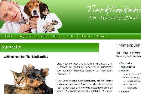 Tier Infos & Tier News @ Tier-News-247.de | TierklinikenNet von UPA jetzt mit Suche