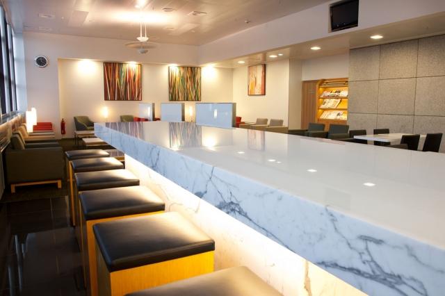 London-News.Info - London Infos & London Tipps | Die Lounge von Cathay Pacific am Frankfurter Flughafen steht ab sofort auch Business Class Passagieren und Nomand Club Mitgliedern von Air Astana offen.