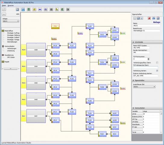 Screenshot von matSTUDIO