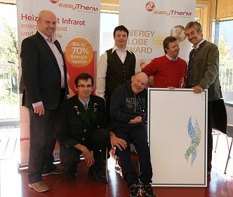 Oesterreicht-News-247.de - Österreich Infos & Österreich Tipps | easyTherm bei der Lebenshilfe - Wärme spenden mit Infrarotheizung
