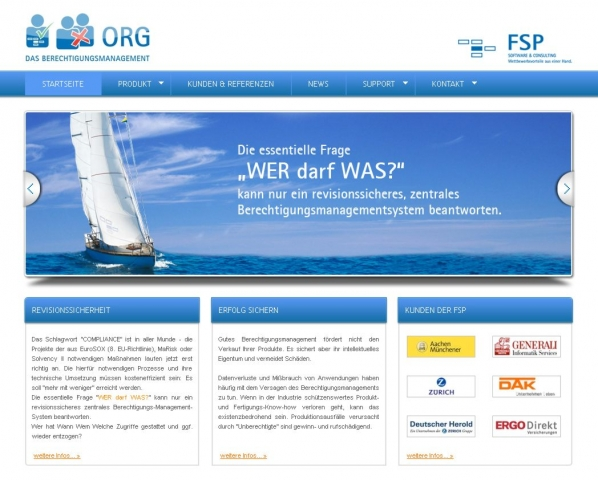 Versicherungen News & Infos | FSP GmbH - revisionssicheres Berechtigungsmanagement