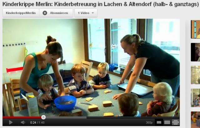 Kinderkrippe Merlin - Kinderbetreuung in Lachen und Altendorf