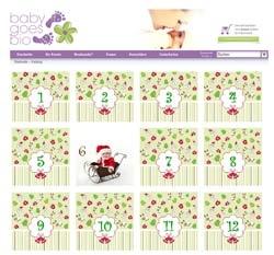 Shopping -News.de - Shopping Infos & Shopping Tipps | Weihnachtsaktion bei Baby goes Bio: der Adventskalender