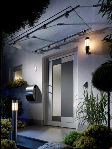 Hamburg-News.NET - Hamburg Infos & Hamburg Tipps | Ein gut beleuchteter Hauseingang erleichtert Besuchern die Orientierung. Foto: licht.de