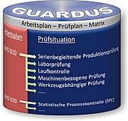 GUARDUS MES Arbeitsplan-Prüfplan-Matrix für reibungslose Fertigungsabläufe