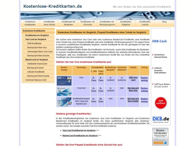 Tarif Infos & Tarif Tipps & Tarif News | Kostenlose-Kreditkarten.net - Visa und MasterCard im Vergleich