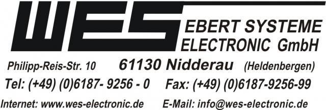 Auto News | Logo WES Ebert Systeme Electronic GmbH