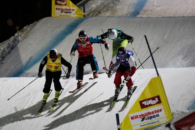 Auto News | Starkes Steilstück: Ski Cross unterhalb des Kitzbüheler Horns.