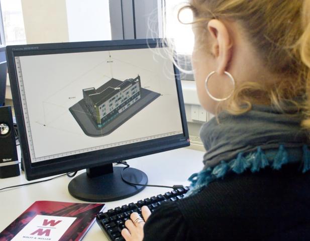 Stuttgart-News.Net - Stuttgart Infos & Stuttgart Tipps | Bauen in fünf Dimensionen: Mit BIM kann WOLFF & MÜLLER außer der 3D-Geometrie auch Bauablauf und Kosten von Projekten simulieren.