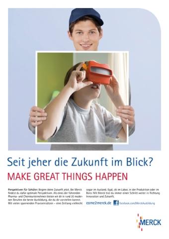 Medien-News.Net - Infos & Tipps rund um Medien | Eine 360 Grad Personalkampagne für Merck KGaA entwickelt Huth + Wenzel.