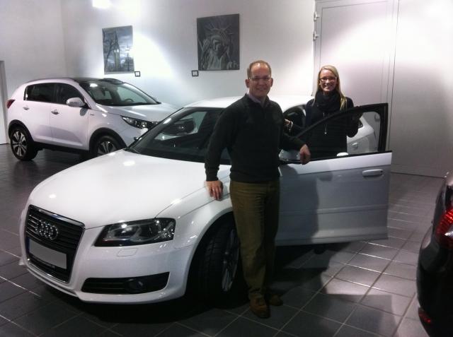 Medien-News.Net - Infos & Tipps rund um Medien | Tanja D. mit ihrem neuen Audi A3 Sportback