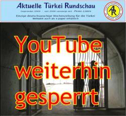 Muslim-Portal.net - News rund um Muslims & Islam | Foto: YouTube ist weiterhin gesperrt, denn das türkische Gericht hat nur eine (!) der zwei bestehenden Sperren aufgehoben.
