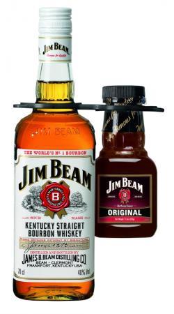 Neue Produkte @ Produkt-Neuheiten.Info | Foto: Jim Beam Kentucky Straight Bourbon Whiskey ist weltweit sowie auch in Deutschland die erfolgreichste Bourbon-Marke. Der amerikanische Whiskey wird seit 1795 nach einer bewährten Rezeptur destilliert.