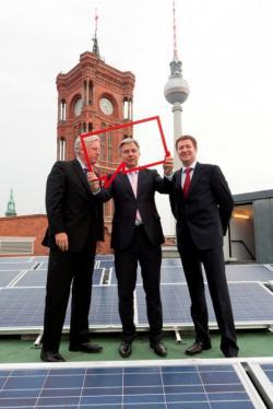 Alternative & Erneuerbare Energien News: Foto: - Bildnachweis: Gust/Berliner Energieagentur.
