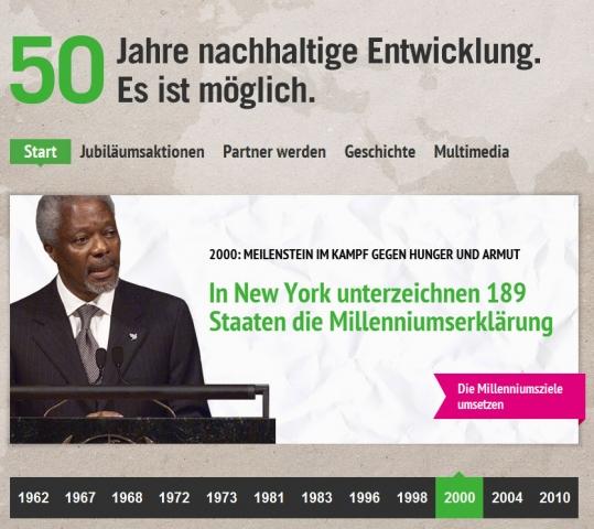 TV Infos & TV News @ TV-Info-247.de | Die Jubiläums-Website der Welthungerhilfe von Aperto