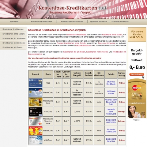 Shopping -News.de - Shopping Infos & Shopping Tipps | Kostenlose-Kreditkarten.net - Visa und MasterCard im Vergleich