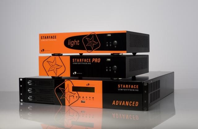 Auch bei den Hybrid-Anlagen top: STARFACE erreichte bei der funkschau-Leserwahl 2011 einen ausgezeichneten zweiten Platz.