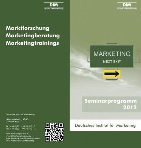 Auto News | Seminarflyer 2012 des DIM