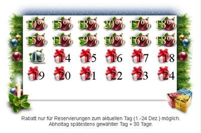 Tarif Infos & Tarif Tipps & Tarif News | Weihnachtskalender Cargo Autovermietung
