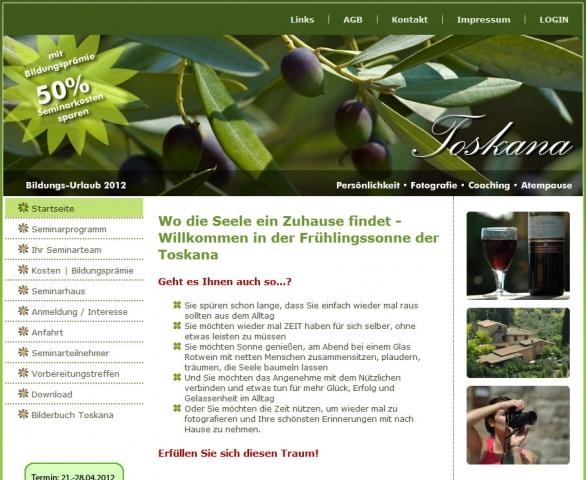 Gutscheine-247.de - Infos & Tipps rund um Gutscheine | Bildungsurlaub in der Toskana April 2012