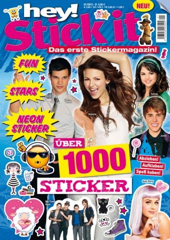 Stuttgart-News.Net - Stuttgart Infos & Stuttgart Tipps | hey! Stick it ist ein Magazin der Panini Verlags GmbH, das aus mehr als 1.000 Aufklebern besteht und vom 30. November an im Zeitschriftenhandel ausliegt.