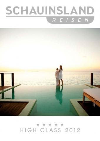 Wellness-247.de - Wellness Infos & Wellness Tipps | Titel des High Class Kataloges 2012 von Schauinsland-Reisne