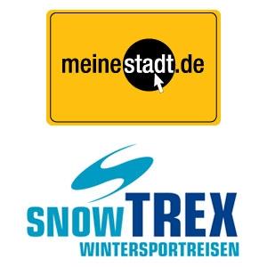 App News @ App-News.Info | Das Städteportal meinestadt.de und SnowTrex Wintersportreisen kooperieren.