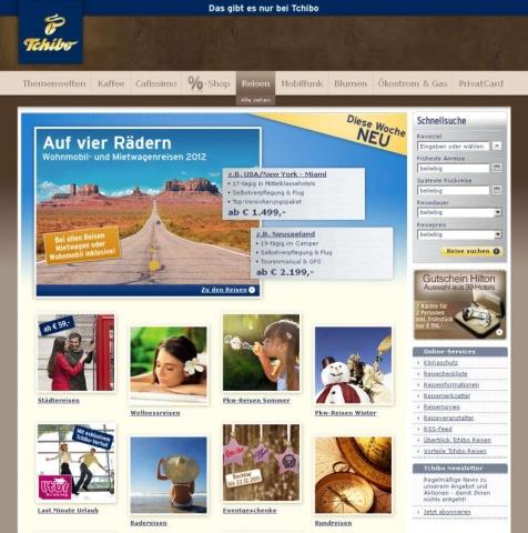 Einkauf-Shopping.de - Shopping Infos & Shopping Tipps | Startseite des Tchibo Reiseshops
