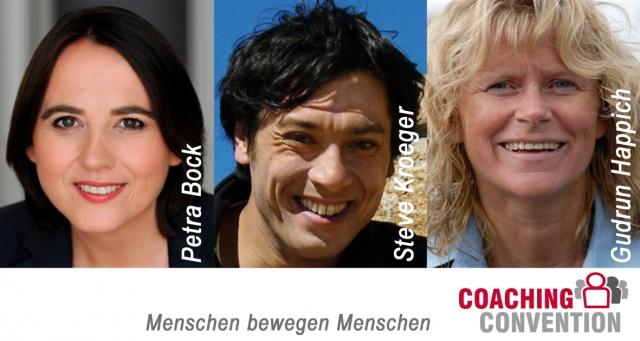Berlin-News.NET - Berlin Infos & Berlin Tipps | Petra Bock, Steve Kroeger und Gudrun Happich freuen sich auf die Überreichung des Coaching Awards