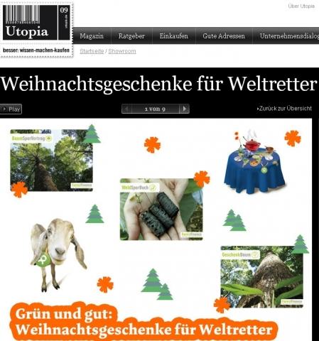 Tier Infos & Tier News @ Tier-News-247.de | Nachhaltige Weihnachtsgeschenke für Weltretter