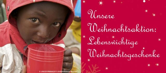 Shopping -News.de - Shopping Infos & Shopping Tipps | Mit der UNICEF Weihnachtsaktion den ärmsten Kindern der Welt überleben helfen.