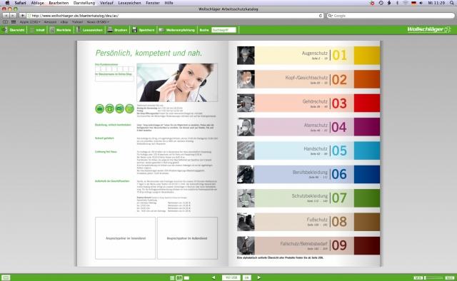 Shopping -News.de - Shopping Infos & Shopping Tipps | Die Kataloge lassen sich per Mausklick durchblättern und bieten viele nützliche Zusatzfunktionen wie beispielsweise einen Weiterempfehlungsbutton.