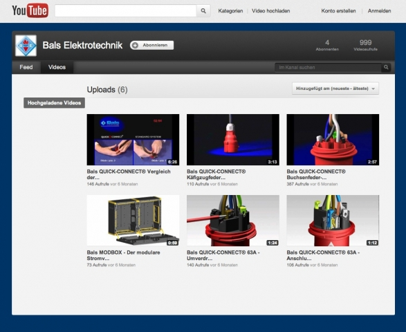 Tickets / Konzertkarten / Eintrittskarten | Der Bals-Kanal bei YouTube bietet dem Elektrofachmann laufend aktuelle Informationen.