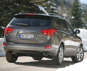 www.mit-Pferden-reisen.de informiert: Hyundai ix55 - Premium-SUV für Pferdeanhänger