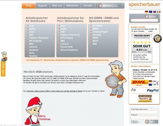 Shopping -News.de - Shopping Infos & Shopping Tipps | Live-Chat auf speicherbauer.de