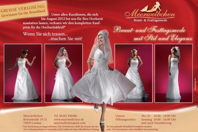 Hochzeit-Heirat.Info - Hochzeit & Heirat Infos & Hochzeit & Heirat Tipps | große Verlosung Braukleid 2012 beim Meerweibchen