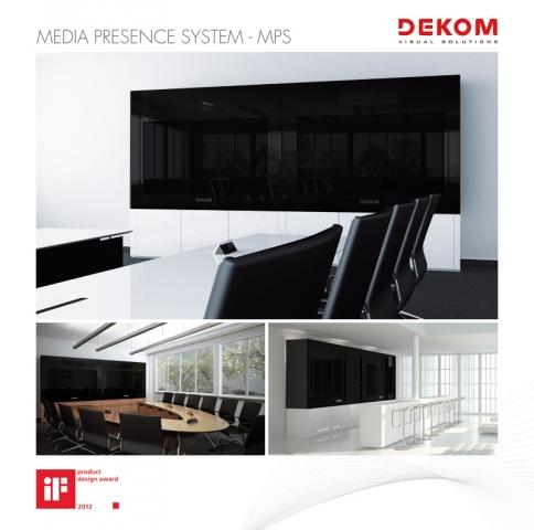 Technik-247.de - Technik Infos & Technik Tipps | DEKOM MPS – ausgezeichnet mit dem iF product design award 2012
