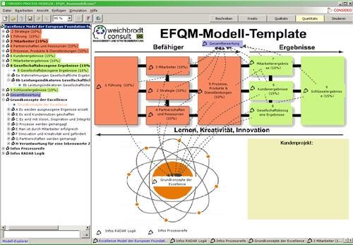 EFQM Simulationsmodell