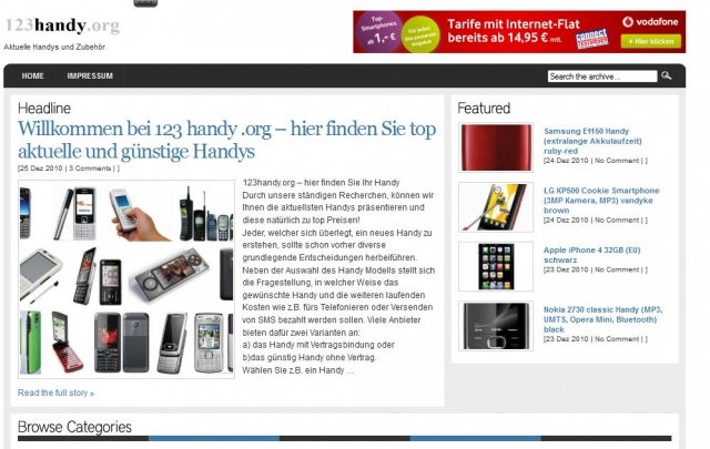 Handy News @ Handy-Info-123.de | 123handy.org – hier finden Sie Ihr Handy