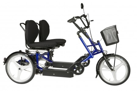 Elektroauto Infos & News @ ElektroMobil-Infos.de. Dreirad für Erwachsene, das Therapierad DUO 2x5 mit Gangschaltung