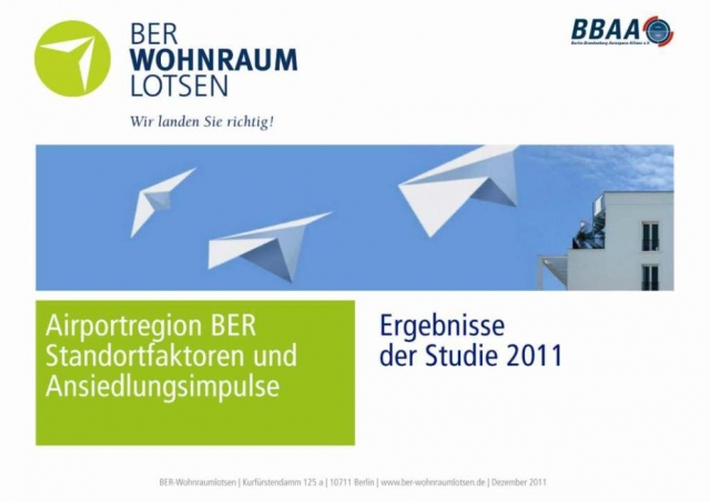Berlin-News.NET - Berlin Infos & Berlin Tipps | Die aktuelle wissenschaftliche Studie der BER-Wonraumlotsen bestätigt den immensen Wohnraumbedarf in der Airportregion Berlin-Brandenburg